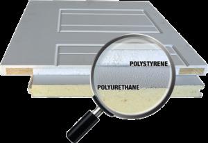 Polystyrene and Polyurethane